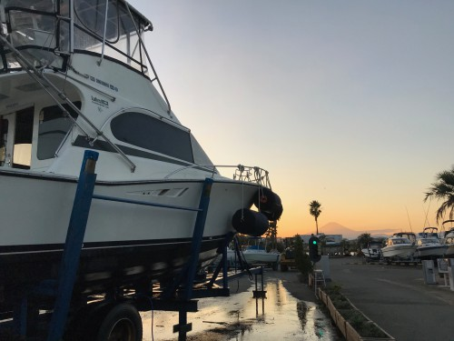 夕暮れのリバーポートマリーナ