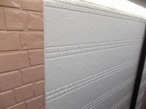 外壁の塗り分けの箇所