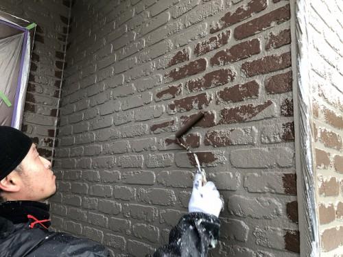 マーク2工法の上塗り塗装