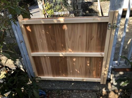 木戸の裏面の様子