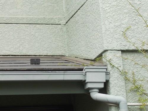 室内の雨漏れの原因と考える下屋根 その
