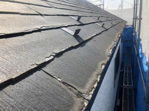パミール屋根の層状剥離の現状