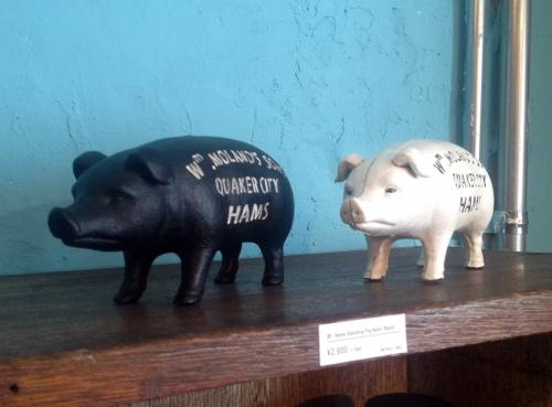 Pig Bank ホワイト再入荷&新色ブラック登場!
