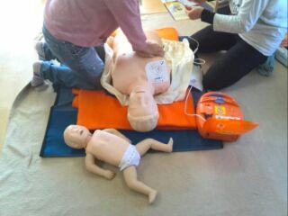 救命講習 乳幼児