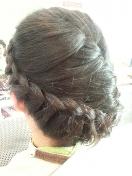 すっごく、髪が多いお客様のセット第3段