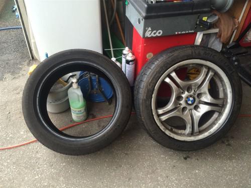 【アイズエージェント】BMW 持ち込み タイヤ交換「足立区」