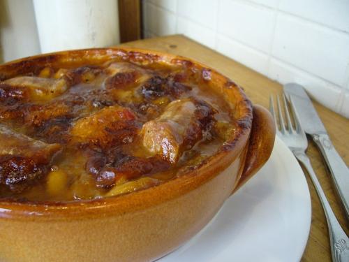 冬季限定の南仏郷土料理「カッスレー Cassoulet」