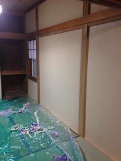 リフォーム 和室の塗装