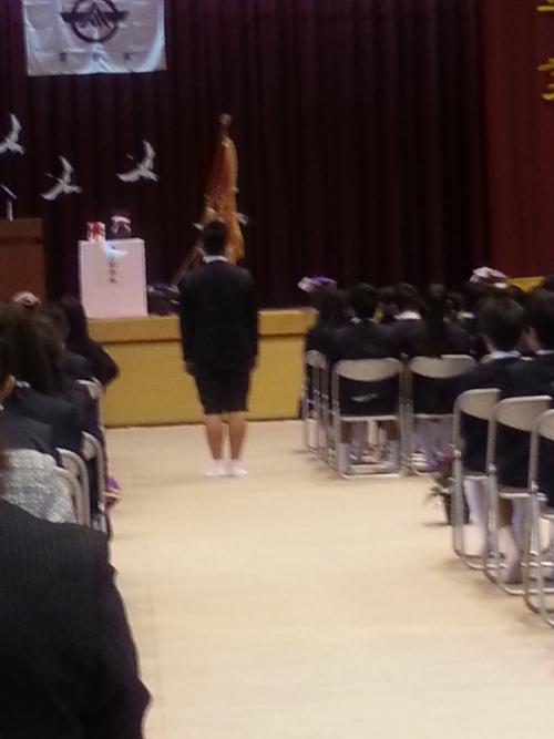 小学校の卒業式♪