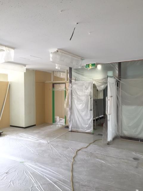 店舗 移設による新装工事 ②