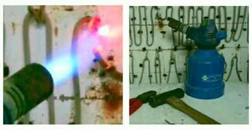 窯の電熱線が切れてしまったので、修理しました。