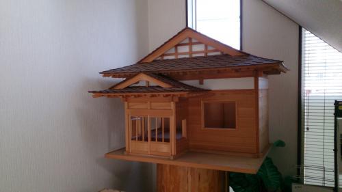 自然素材で・・・ 日本家屋