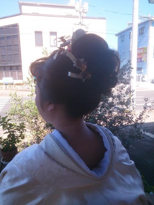 美容師にとって永遠の憧れ、『日本髪』
