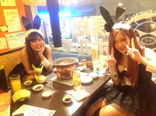 ハロウィン突入の渋谷でホルモン焼肉!オススメ!
