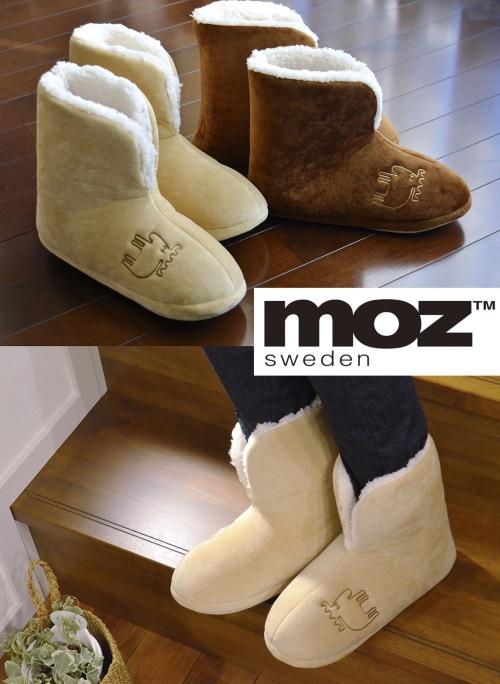 『moz』北欧スウェーデンのもこもこルームブーツ