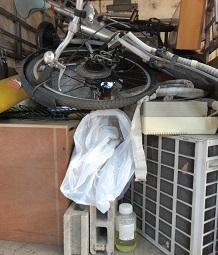 エアコン取外し回収、お引越しごみ、熊谷市の不用品です。