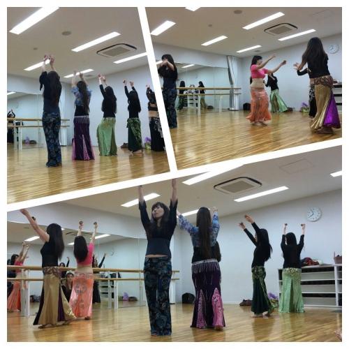中級クラス☆発表会練習