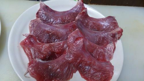 食べてみて超絶うまい!マグロホホ肉のステーキ