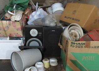 一軒家のお宅から不要なお荷物、お片付け、処分です。
