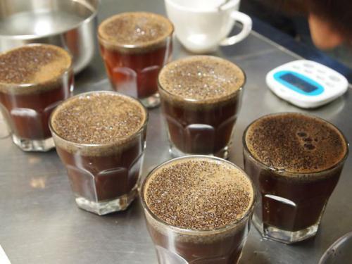 カッピング《コーヒーのテイスティグ法》