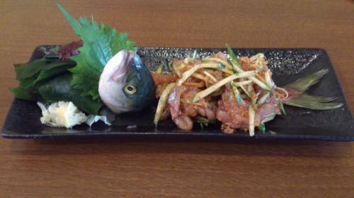 ワカシの刺身をひとひねりした魚料理の作り方