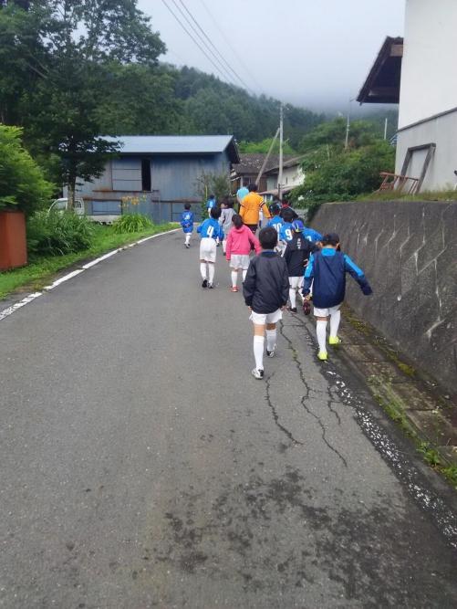 夏合宿報告(朝散歩)