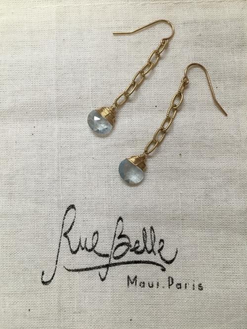 Rue belleのロングピアス
