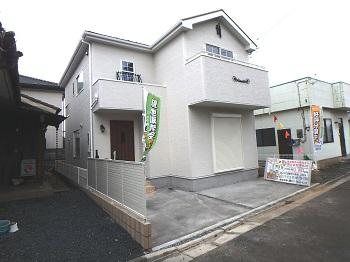 完成しました、上尾市栄町 南欧風新築住宅 仲介手数料無料