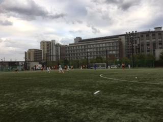 水戸市サッカーチーム活動東京遠征