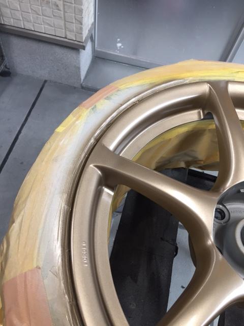 GTRホイール  修理終了