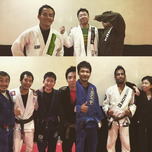 文京区白山の格闘技道場、今日の参加者