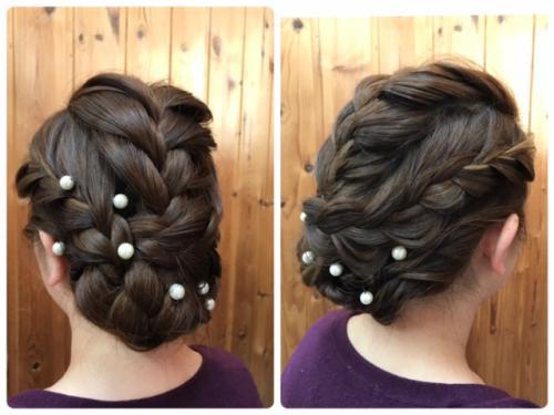 結婚式のヘアセット