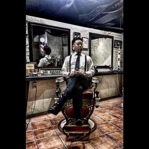 メンズパーマ 刈り上げ 理容室 barber