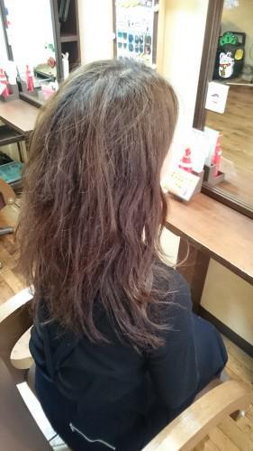 リセッターで髪の毛ツヤツヤ~♪