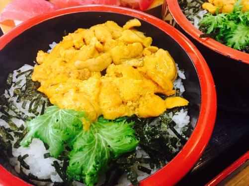 お寿司はウニが一番好きです♡