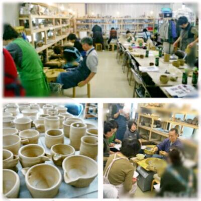 陶芸教室 東京国立けんぼう窯 電動ろくろ集中講座開催。