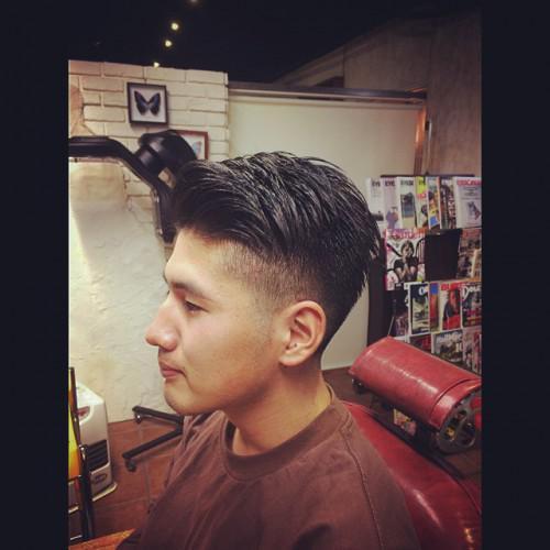 メンズヘア 刈り上げ 新潟 理容室 barber