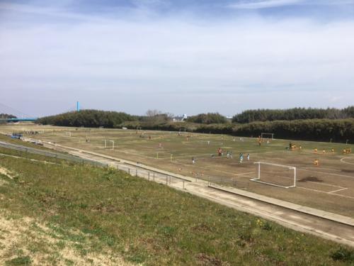 春休みサッカーフィフティバル水戸