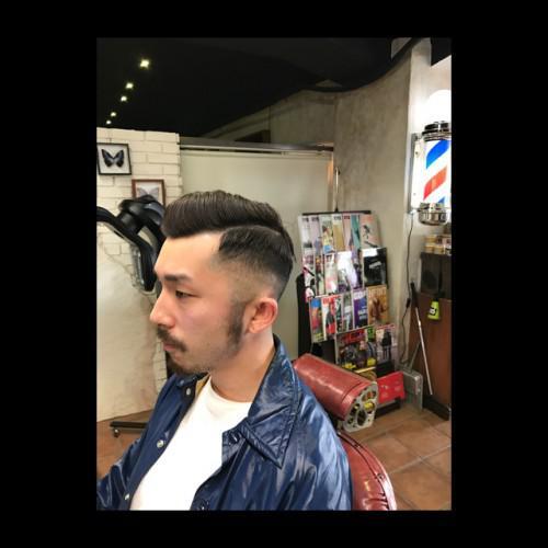 フェード 刈り上げ 新潟 理容室 barber