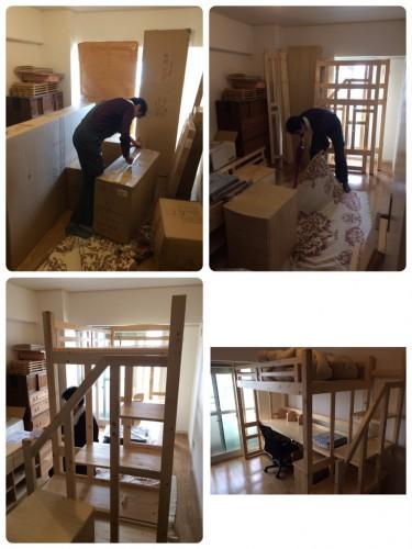 東京都、日曜大工、家具組立、ベッド組立、格安