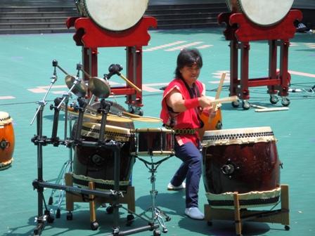 老人ホームへの和太鼓演奏、学校施設への出張演奏東京都、埼玉県