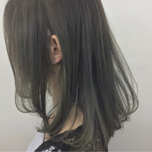 透明感グレー【TLONY渋谷】