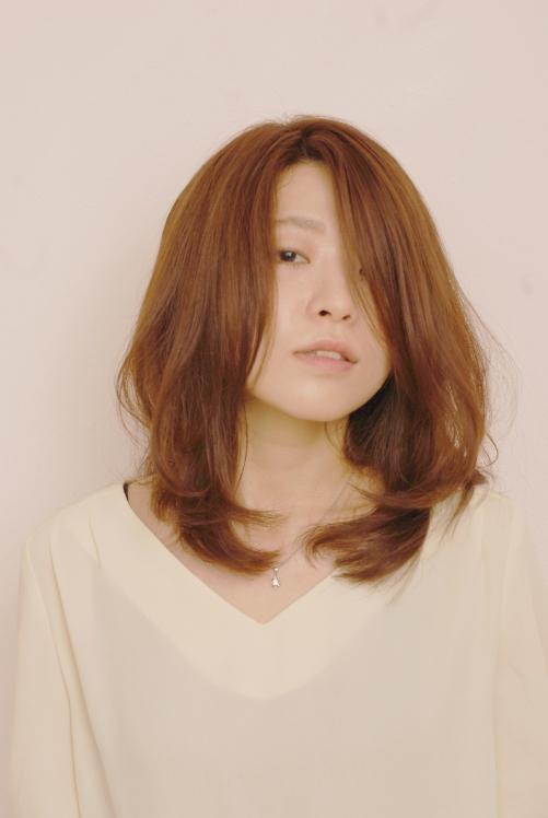 まとめ髪も簡単!ナチュラルクールスタイル