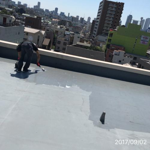 屋上防水工事リフォーム名古屋