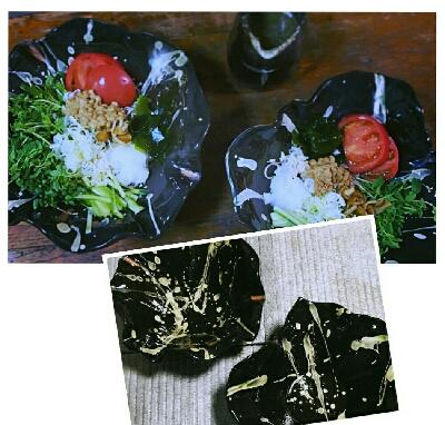 Kさんが作った素敵な蕎麦の器 陶芸教室国立けんぼう窯