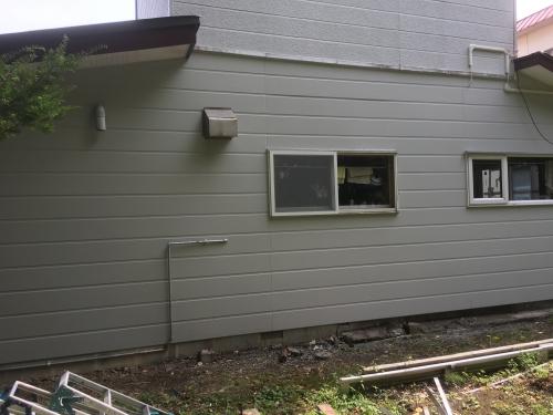 北海道恵庭市 外壁工事
