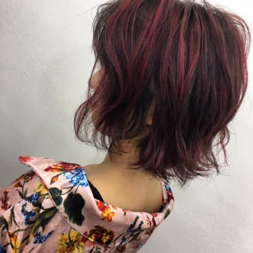 カット カラーパーマ シールエクステ 渋谷TLONY