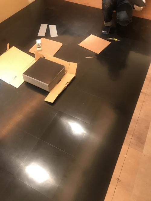 札幌市リフォーム工房楽人 テナントPタイル張替え工事