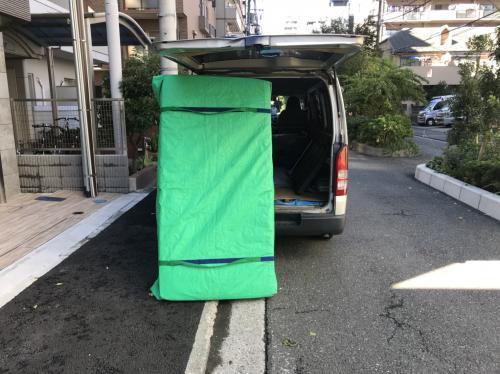 横浜市にてハイエースお引越しサポート実行です!