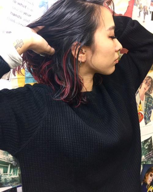 TLONY渋谷 旬なハイライトもカラーをのせて個性を